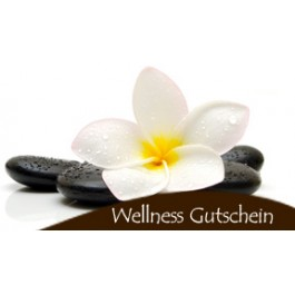Wellness gutschein selber machen  Wellness Oase Hauch der Ruhe (70 Min)