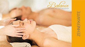 Zehnerkarte Massagen