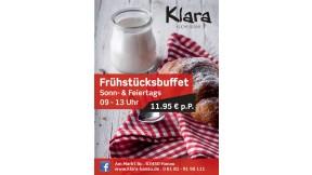 Klara Frühstücksbuffet