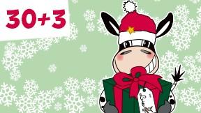 30 + 3 Weihnachtsaktion